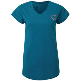 Dare 2b Pastime T-Shirt Damen petrol blue